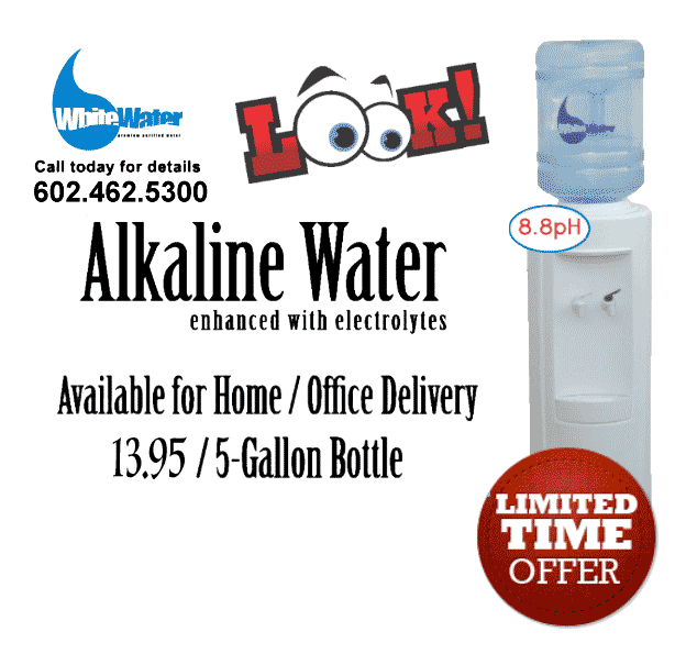 alkaline water phoenix delivery offer