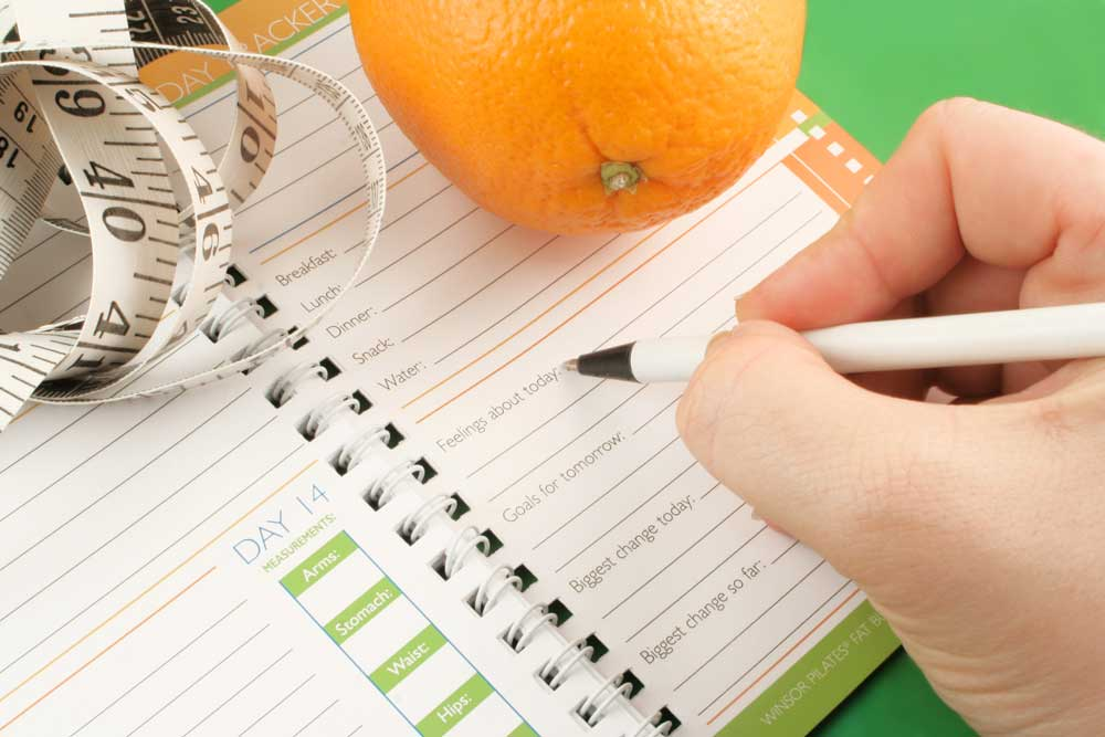 A food journal can help you lose weight